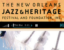 Jazz Festival Website