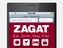 Zagat Mobile Site